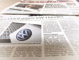 HG Wien verurteilt VW-Händler